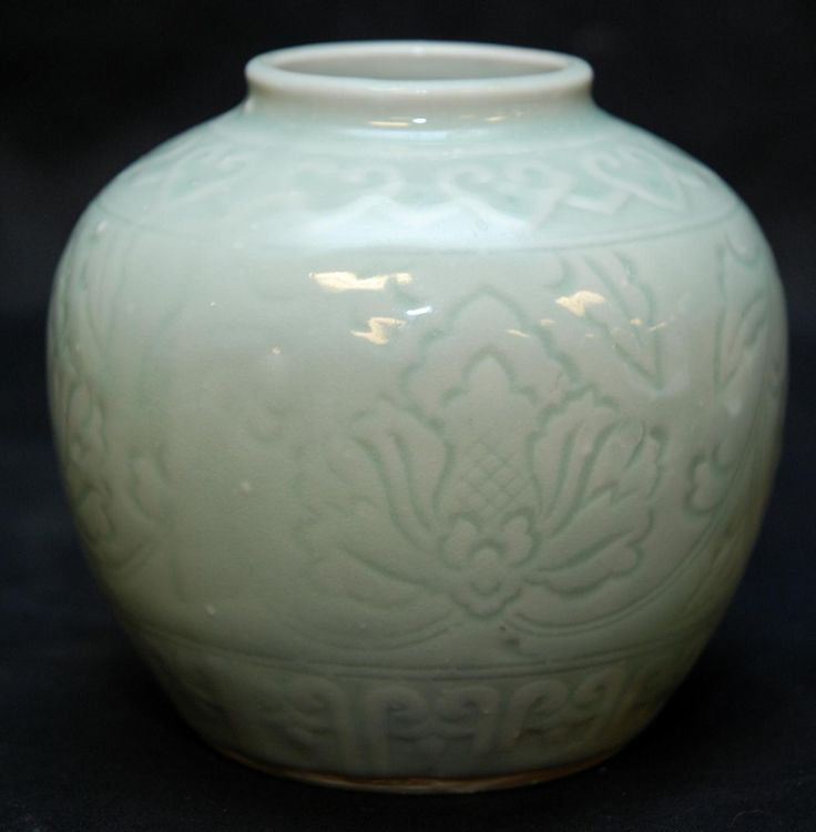 chinese celadon pottery art ceramics pinterest