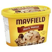 Mayfield Ice Cream, Select, Black Walnut : Publix.com