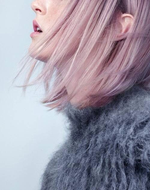 Image via We Heart It https://weheartit.com/entry/143089921/via/22613031 #hair #pale #pink