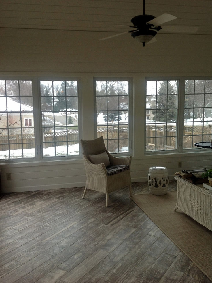 piano travertine sunroom floor the vein cut stone looks