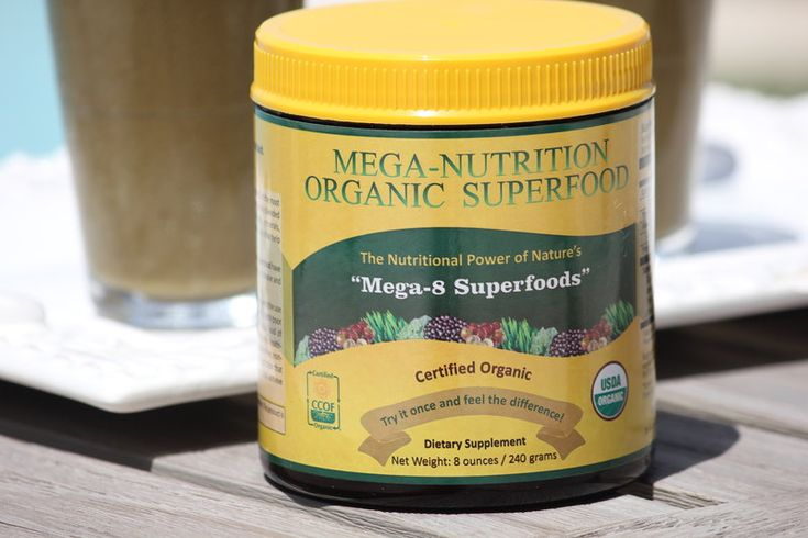 The mega nutrition superfood list identifies the 8 most nutrient-dense foods on the planet plus a delicious recipe and superfood solution.