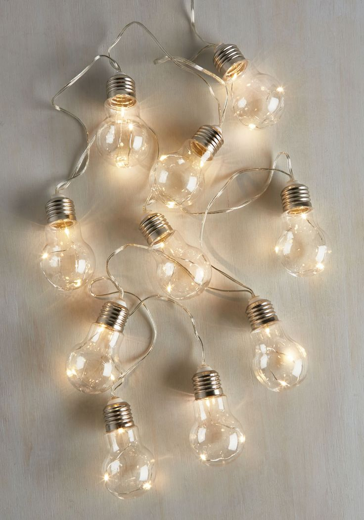 What a Bright Idea! String Lights