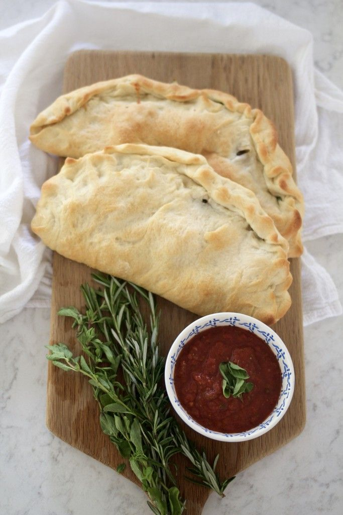The very best homemade calzone ever! ABK's Homemade Calzones!