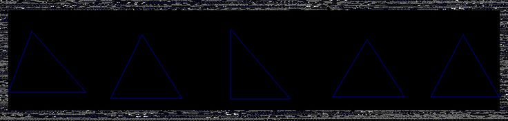 Matemática, espíritu y arte: Clasificación de triángulos
