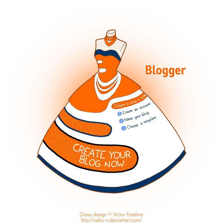 Blogger in Fashion by Neko-Vi.deviantart.com on @deviantART
