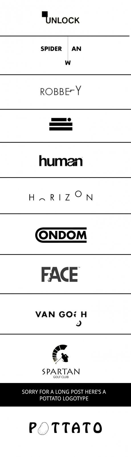 For those who hate graphic designers, here are some pretty cool logotypes that may change your way of thinking, plus they are cool.