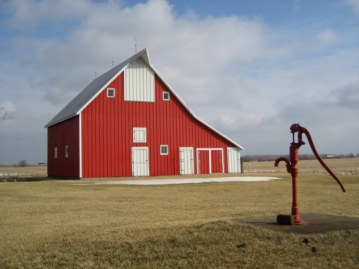 38 best hand water pumps images on pinterest old water for Traditional barn kits