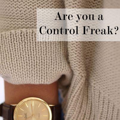 Am i dating a control freak