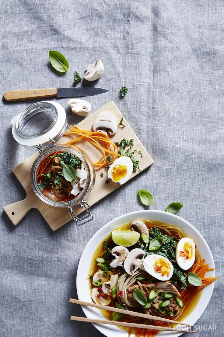 Vietnamese Ramen Bowl.  You won't believe this combination of simple ingredients could taste so much like the real thing. We've ditched the MSG and added in some natural flavours and a whole lotta veg! – I Quit Sugar