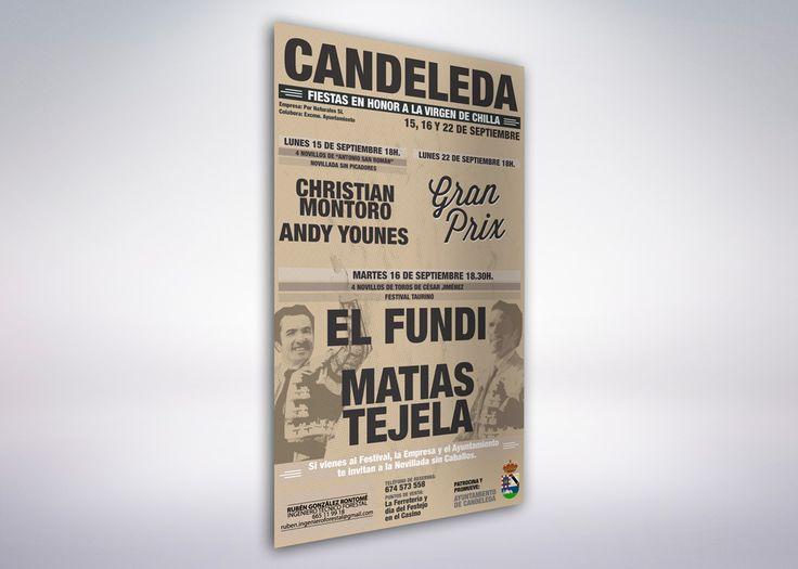 Por Naturales | Cartel Oficial Candeleda 2014