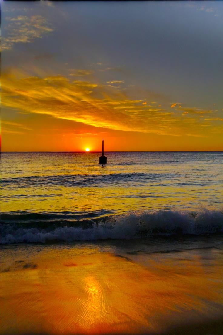 Sunset at Cottesloe WA Australia