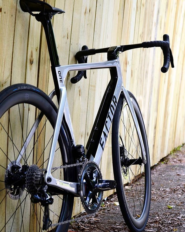 The Factor One Disc In Silver Is How Cold Ice Cold Factorbike