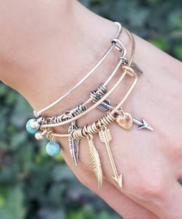 arrows of friendship silver alex and ani - Google Search