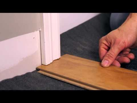 rona comment installer un plancher flottant youtube. Black Bedroom Furniture Sets. Home Design Ideas