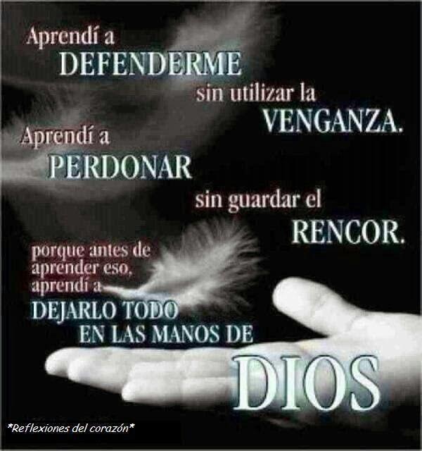 Aprende a dejar todo en manos de Dios