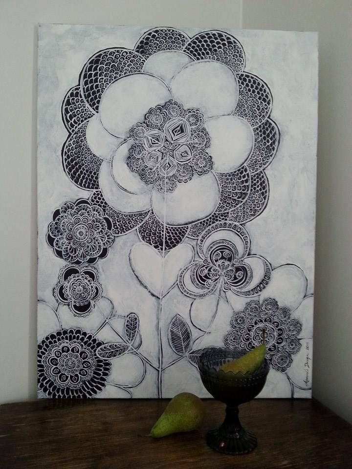 Lace. Painting by Hammi´s Design.