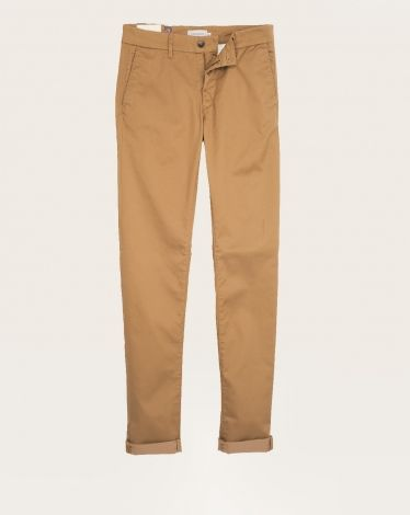 Pantalon slim Homme Chevignon sable Hiver 2015
