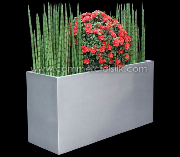 Artificial Snake Grass Plant - Commercial Silk Int'l