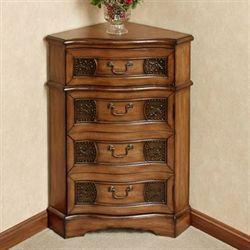Elegant Elegant Small Corner Accent Table With Drawer Of Cadiz Wooden Corner Accent  Cabinet Design~ Popular Home Interior Decoration