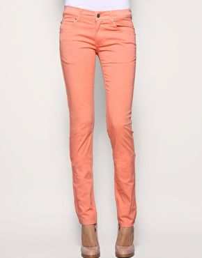perfect shade of coral   mom needs to wear something cute to the gymnastics party, too  #coral #jeans