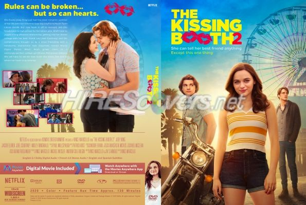The Kissing Booth 2 Movie 2020 Poster 32x48 14x21 24x36 Fabric Art E-79