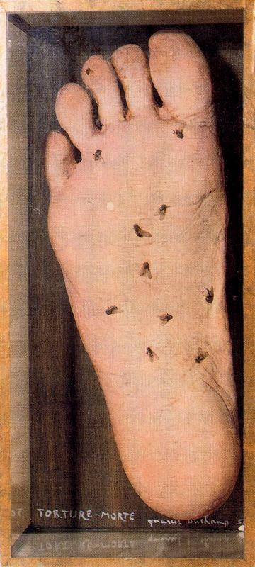 Marcel Duchamp >> Torture-Morte  |  (huile, reproduction, copie, tableau, oeuvre, peinture).