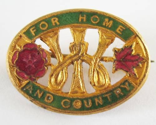 Apparently this design for the members' badge was used until the 1970s. - I got one that looks older than that, marked B'ham
