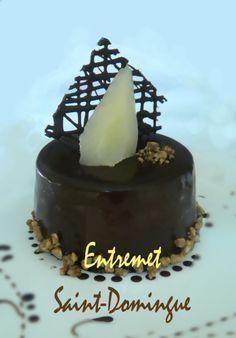 ENTREMET CHOCOLAT SAINT-DOMINGUE