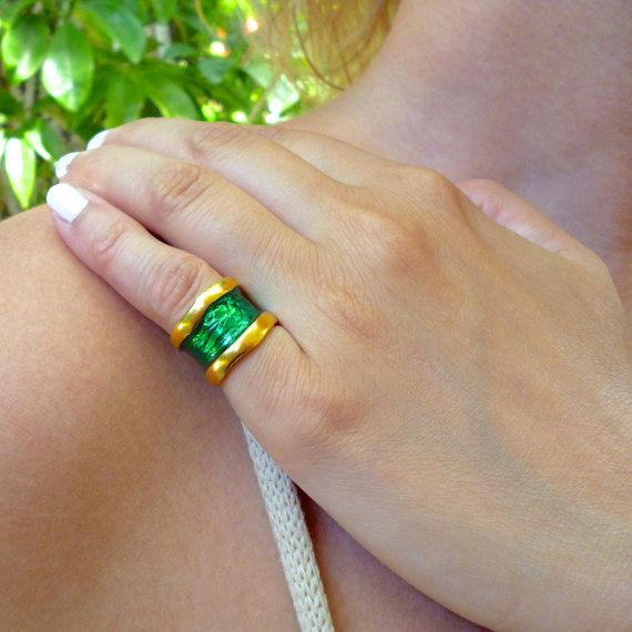 Hey, I found this really awesome Etsy listing at https://www.etsy.com/listing/269836791/wide-band-ring-chevalier-ring-adjustable