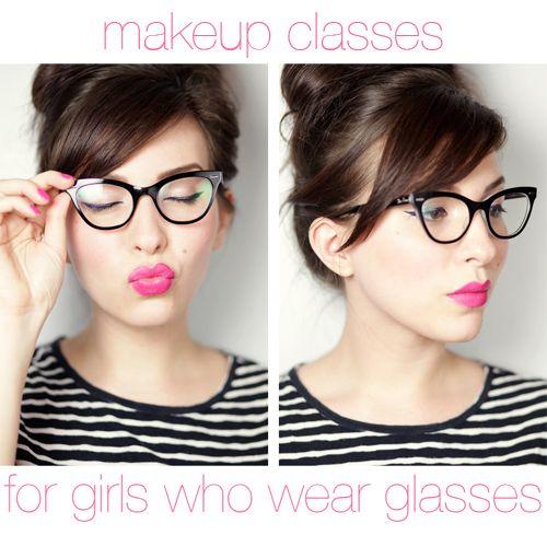 Makeup Monday: Girls Who Wear Glasses
