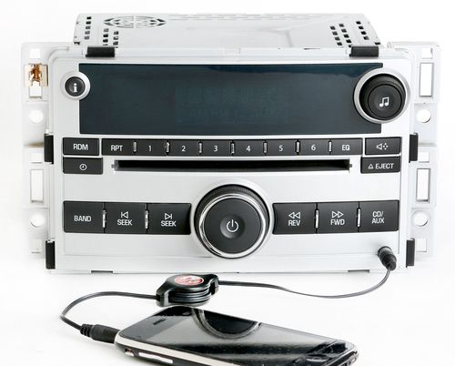 Chevy Malibu 2008 Radio AM FM CD Player w Auxiliary 3.5mm Input PN 25842776 U1C