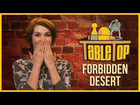 ▶ Forbidden Desert: Felicia Day, Alan Tudyk, and Jon Heder join Wil Wheaton on TableTop S03E02 - YouTube