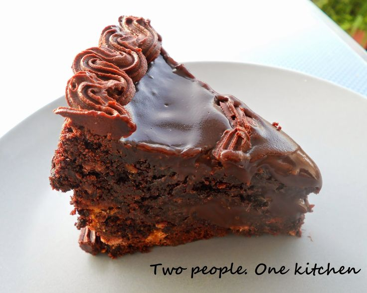 "Two people. One kitchen: Τούρτα ""Chocolate River"""