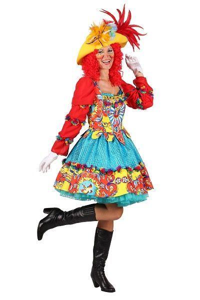 Carnavalskleding Dames 2019.Clown Jurk Voor Dames In Een Nieuwe Versie Topkwaliteit Stoffen En
