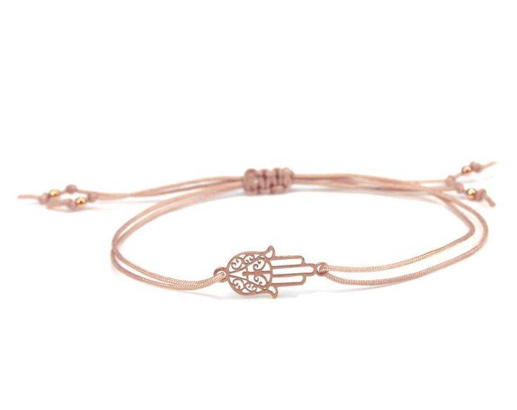 Symbol Armband Rosegold - Fatimas Hand