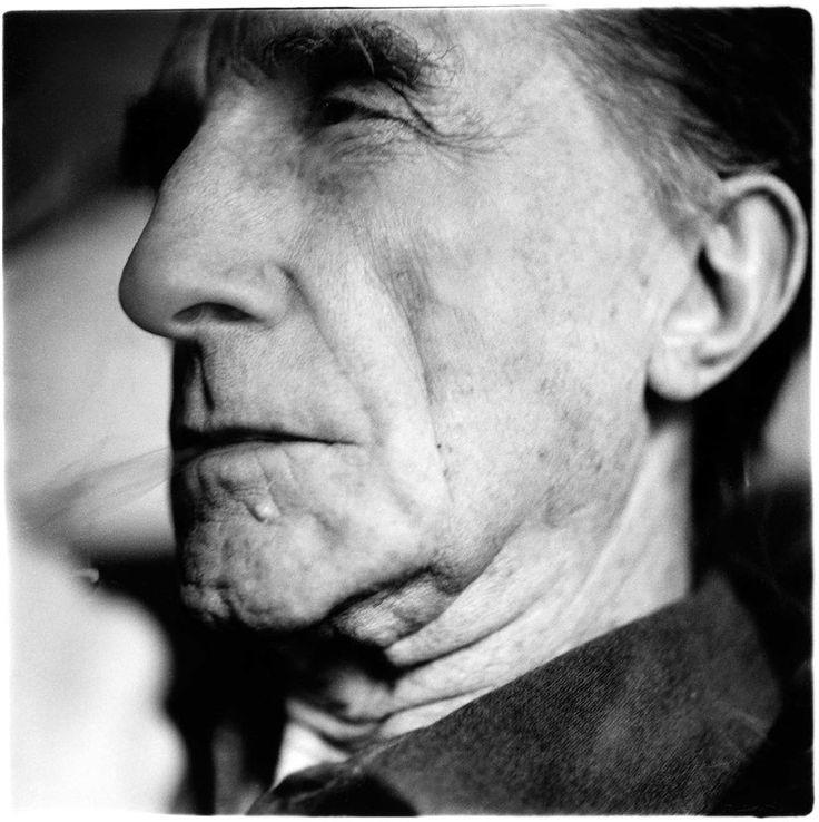 Marcel Duchamp, artist, New York, January 31, 1958 Richard Avedon