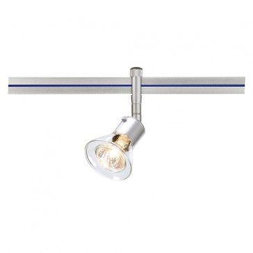 ANILA Spot MR16 mit klarem Glas, für LINUX LIGHT, silbergrau / LED24-LED Shop