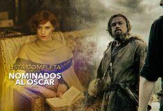 Cine PREMIERE | Lista completa nominados al Oscar 2016