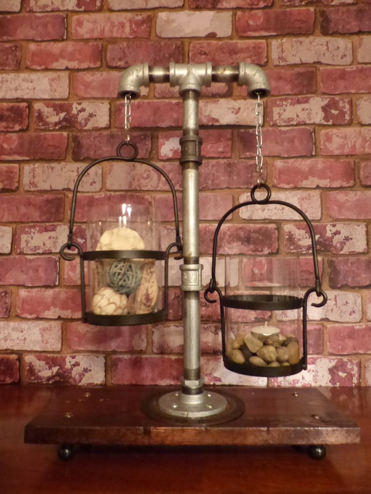INDUSTRIAL CANDELABRA - Industrial Pipe Lighting by JusFunkinAround on Etsy