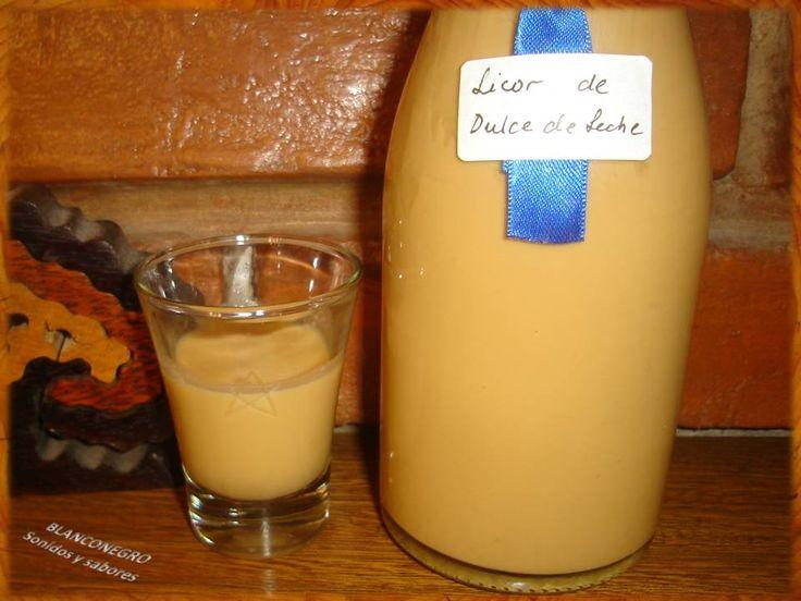 Licor de Dulce de Leche casero
