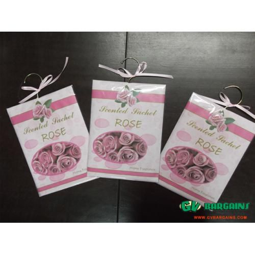 Pack of 3 HANG UP SCENTED SACKETS