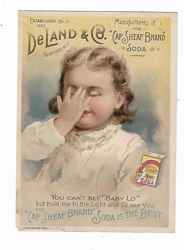 1891 hold to light trade card deland co fairport ny cap sheaf 1891 hold to light trade card deland co fairport ny cap sheaf brand soda girl reheart Choice Image