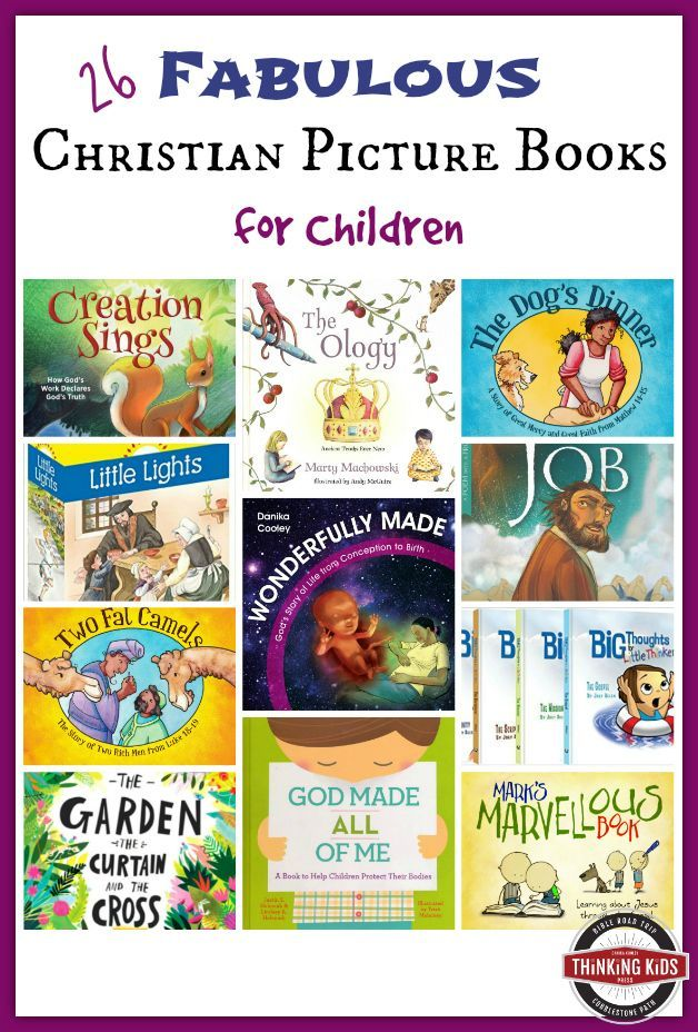 26 Fabulous Christian Picture Books for Children
