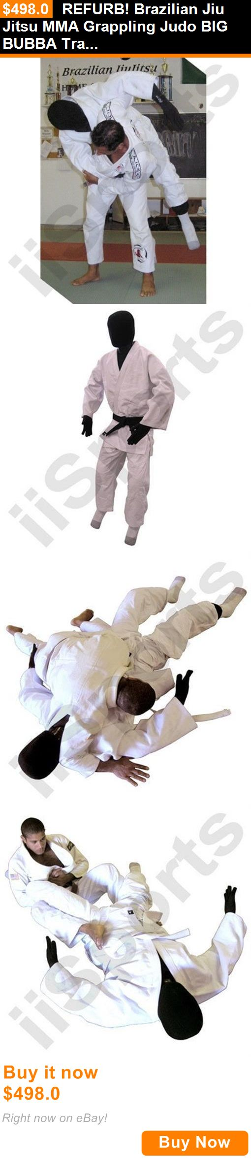 Dummies 179786: Refurb! Brazilian Jiu Jitsu Mma Grappling Judo Big Bubba Training Man Dummy Bag BUY IT NOW ONLY: $498.0