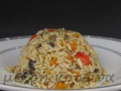 μικρή κουζίνα: Ριζότο με φρέσκα λαχανικά και ένα νέο!