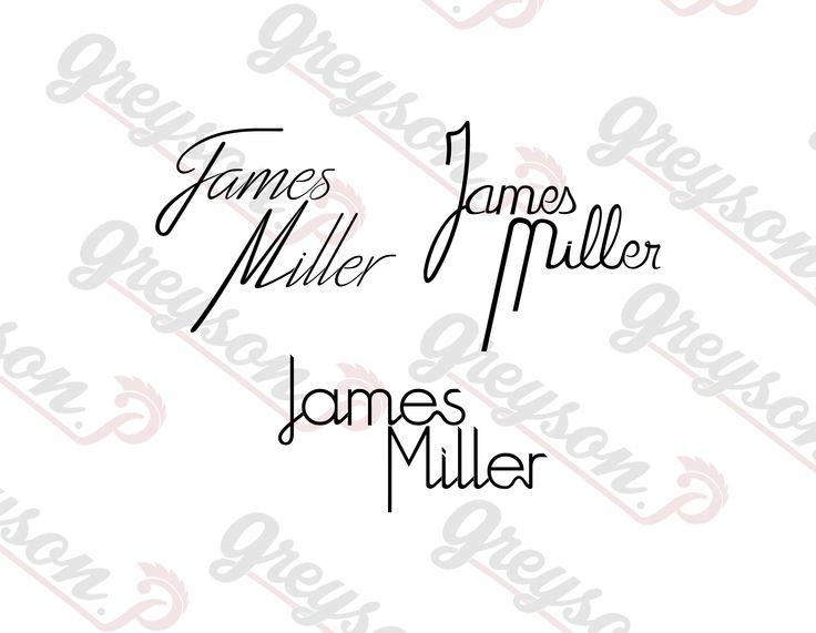 Planche logotype préparatoire | Logo réalisé pour James Miller [DJ] organisateur [Linkers Event]