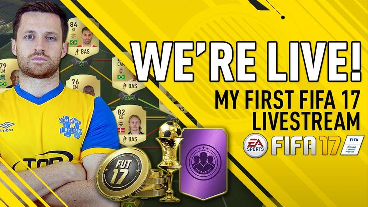 FIFA 17 IS HERE! PACK OPENING & FUT FUN!