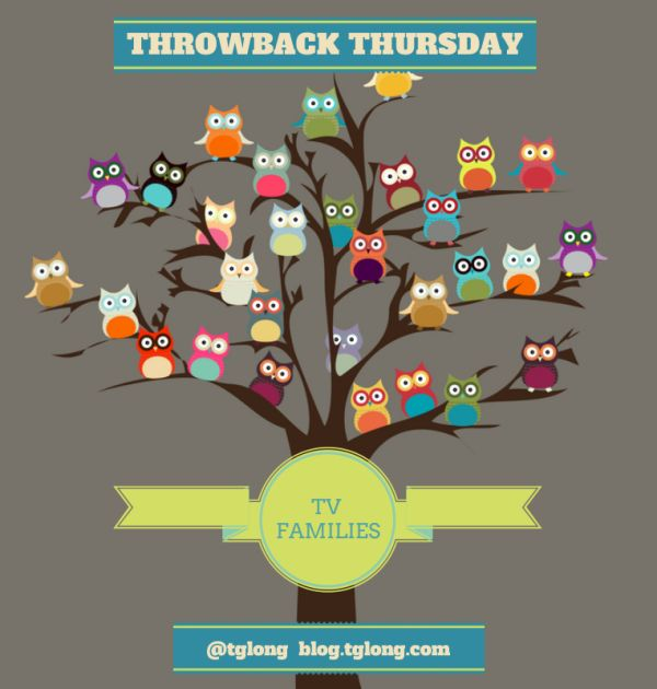 Throwback Thursday: TV Families