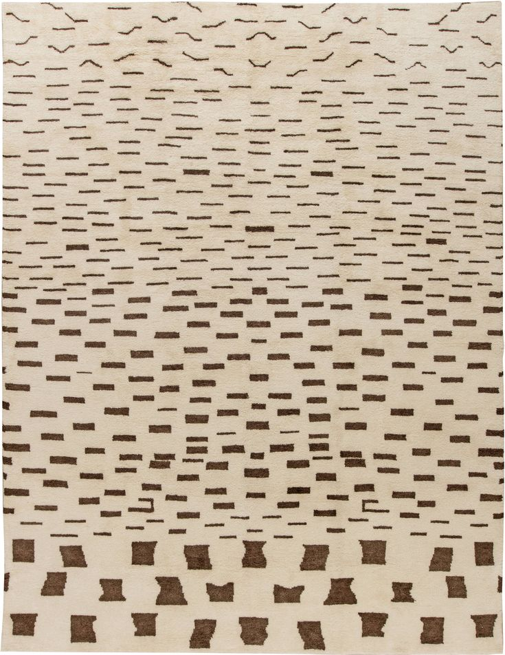 Modern Rugs: Modern rug in beige, modern style perfect for modern interior decor, modern living room, geometric pattern rug