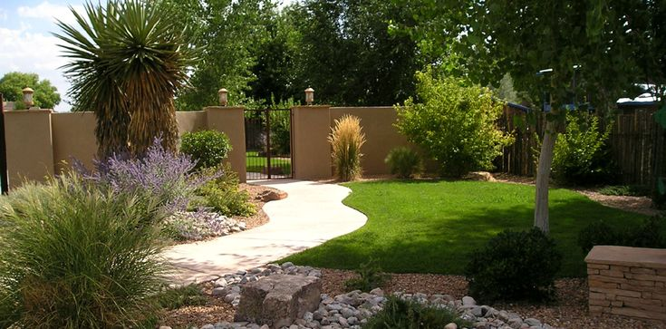 Xeriscape ideas for new mexico commercial landscape for New landscaping ideas